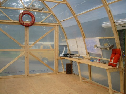 The arctic tern project for passionate sailors diy 39 ers for Boat storage building plans