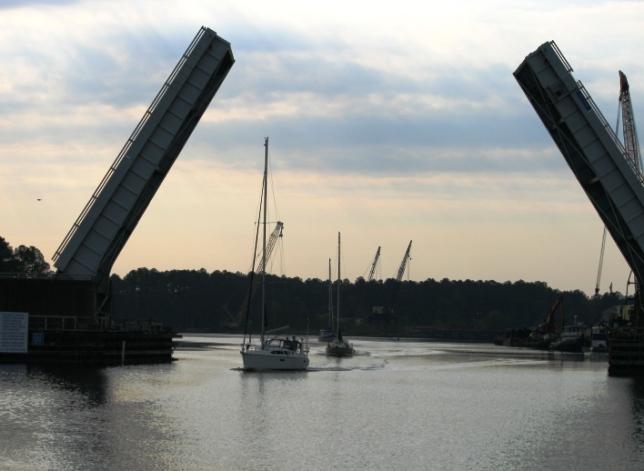 After norfolk bridge