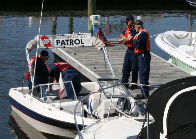 #3 aux Coast Guard