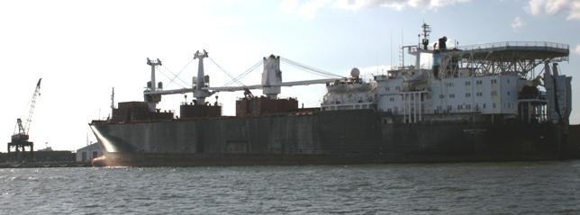 1 cargo ship