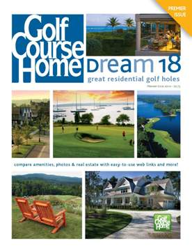 JPG GolfCourseHome Magazine Premier Issue cover as a