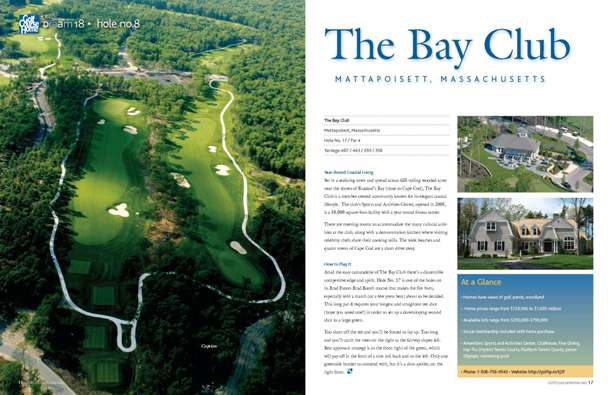 Bay club SPREAD