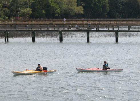 #3 kayakers