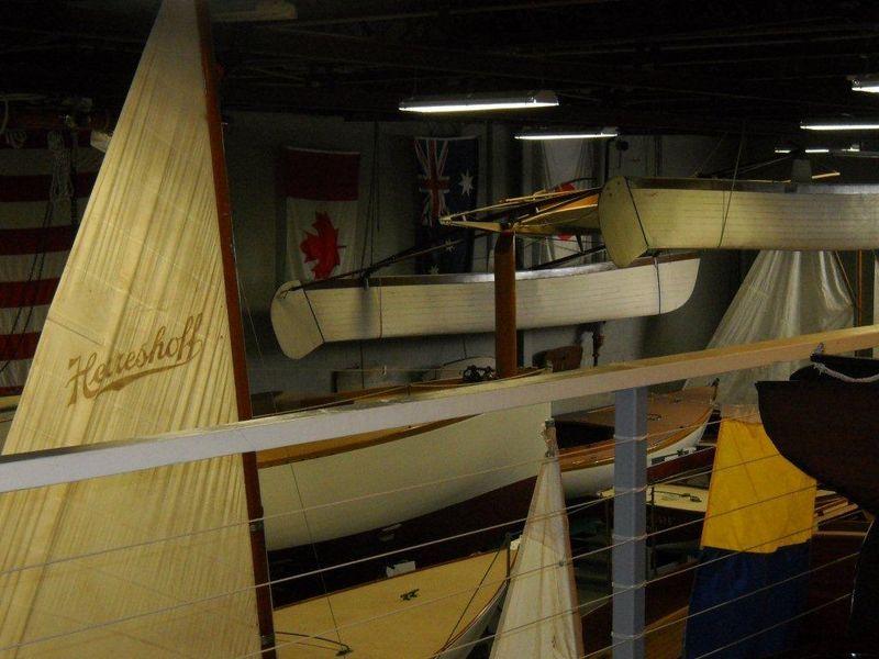 Hanging boats