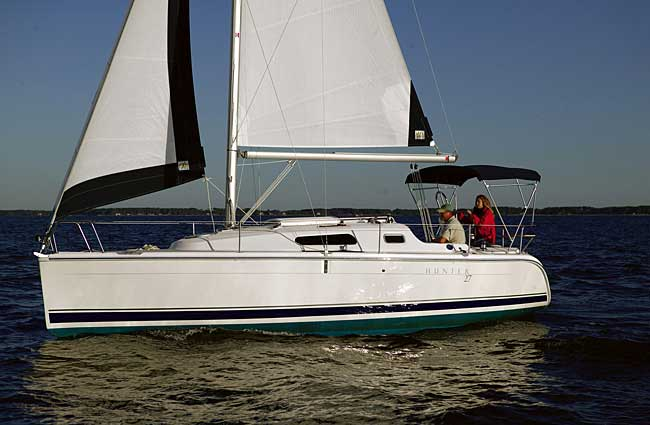 Hunter 27: 'Best Boat' Green award winner. Sail Magazine has announced its ...