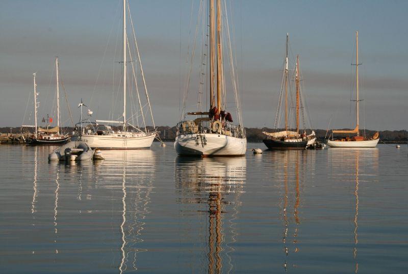 5 boats