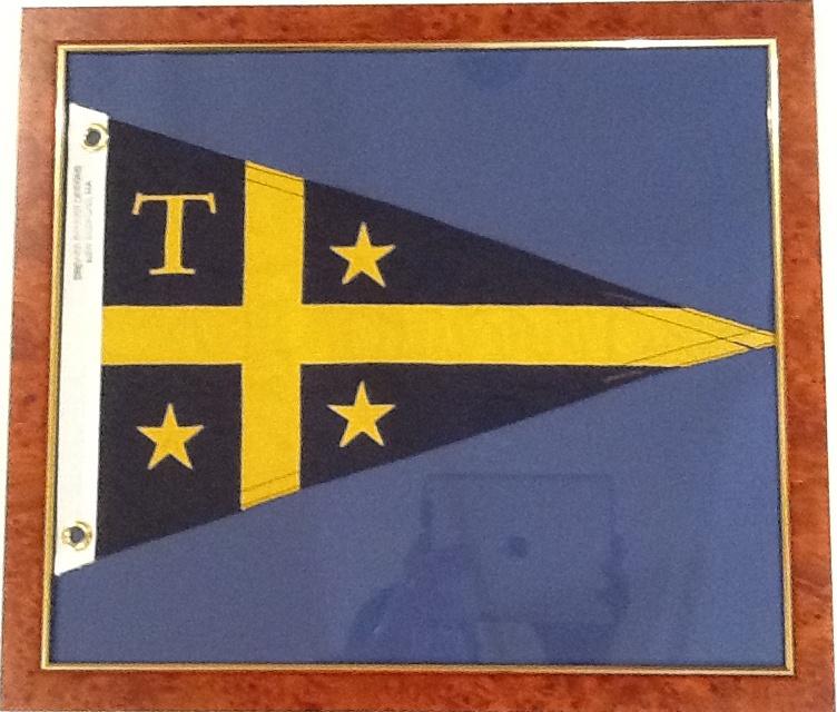 Trinity yacht club burgee