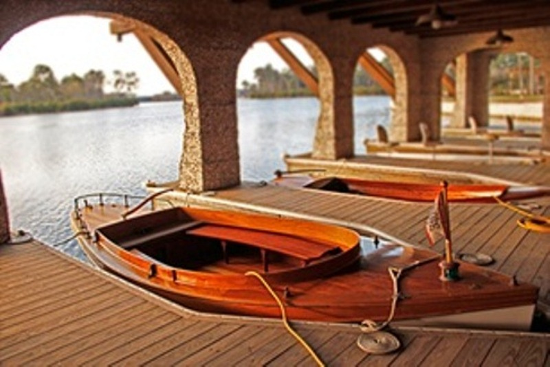 Feature Page - Boats at boathouse
