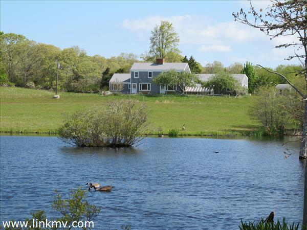 House w pond
