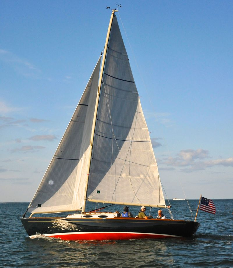 Providence under sail